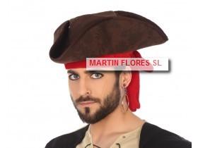 9162b37cf1587 Gorro pirata caribe en Sevilla para disfraz de caranaval barato