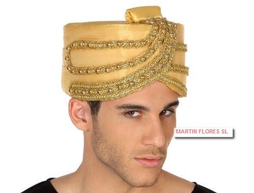 Gorro turbante gran faquir en Sevilla para hinú 059676b7f99