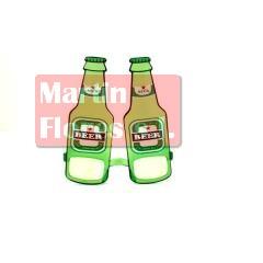 Gafa cervezas botellín