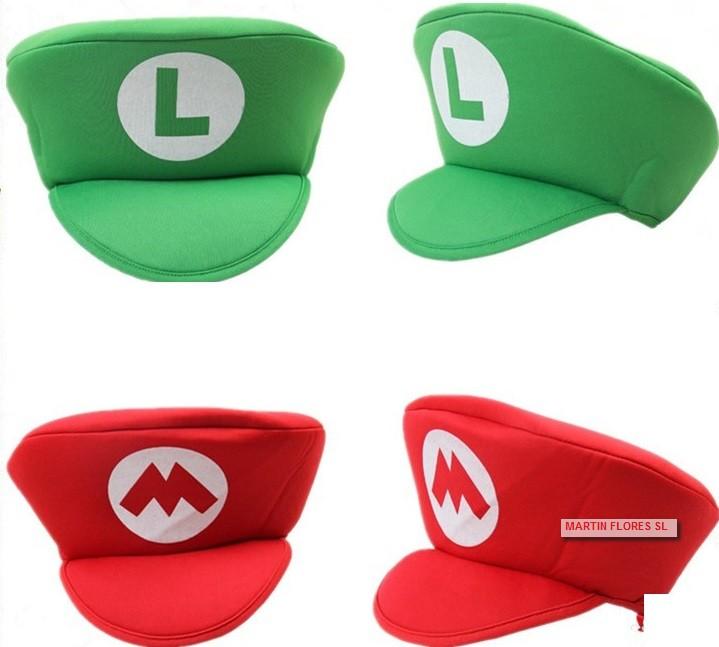 098b8979713d7 Gorra video juego Mario Bros y luigi para carnaval en  sevilla
