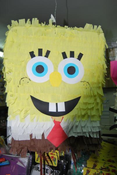 Piñata 3d Bob Esponja