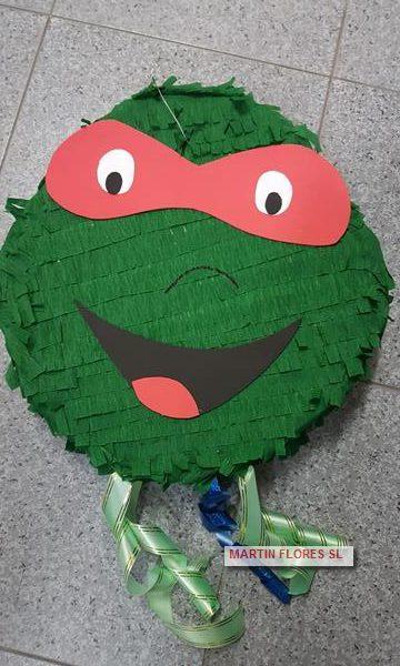 Piñata 3d tortuga ninja