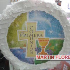 Piñatas, photocall Comunión