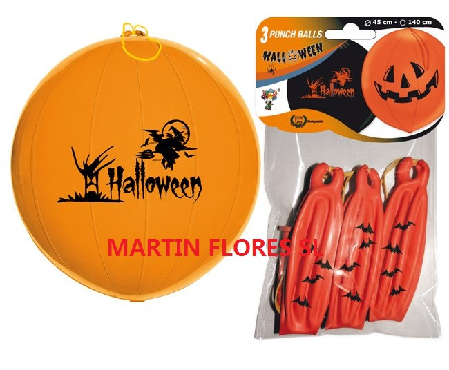 Globos halloween punchball disfraces ni os baratos sevilla - Articulos halloween baratos ...