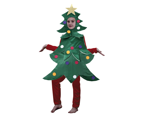 Disfraz Arbol Navidad Infantil Disfraces Ninos Baratos Sevilla - Disfraces-de-nios-de-navidad
