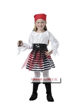 9627d20e5 Disfraz pirata falda tul