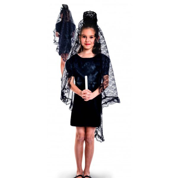 Disfraz mantilla niña