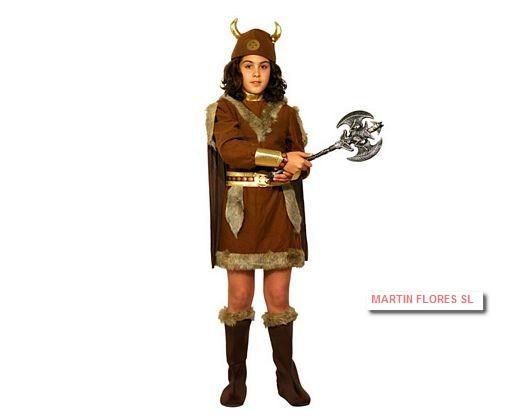 332d41e66 Disfraz vikinga niña Disfraces niños baratos sevilla