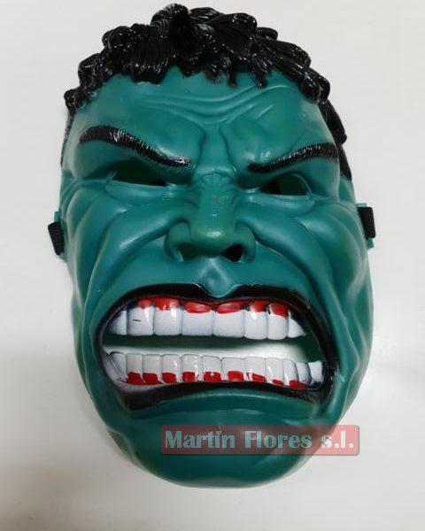 Careta Hulk la masa verde