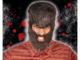 Careta pelo hombre lobo con cinta