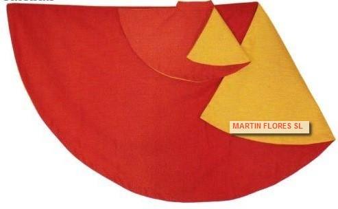 Capote rojo o muleta grande