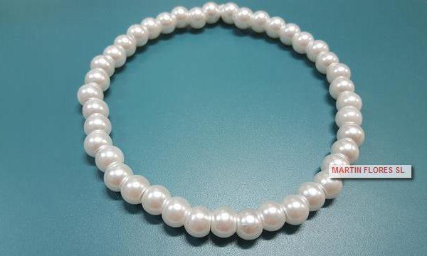 Gargantilla infantil perlas
