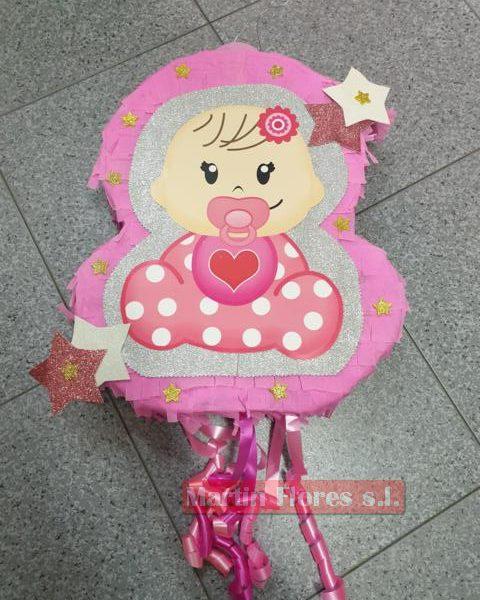 Piñata 3D bebé niña