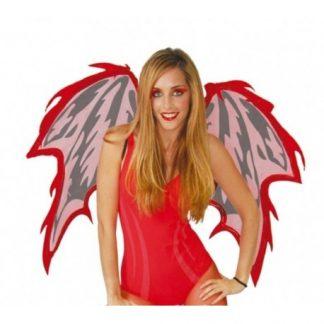 Alas demonia roja