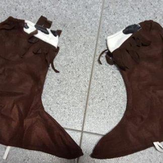 Cubre zapato marrón
