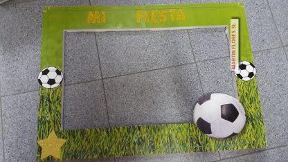 Cartel para photocall fútbol equipos