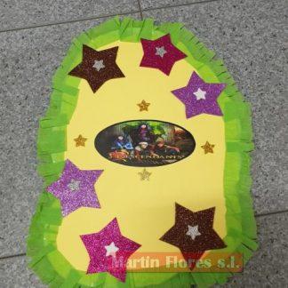 Piñata diseño mediana Descendientes