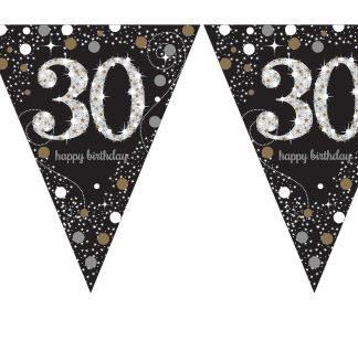 Banderín guirnalda 30 años