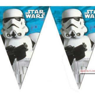 Banderín guirnalda Star War