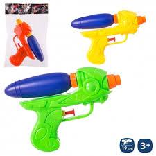 Pistola agua plástico de colores