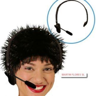 Micrófono de auricular para la cabeza