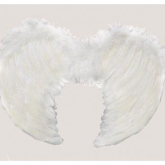 Alas plumas blanca 40*36 cm