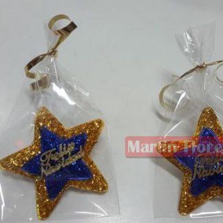 Broche Navidad estrella