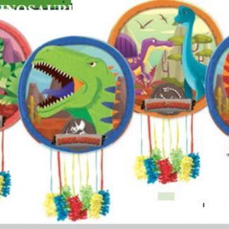 Piñata dinosaurios mediana