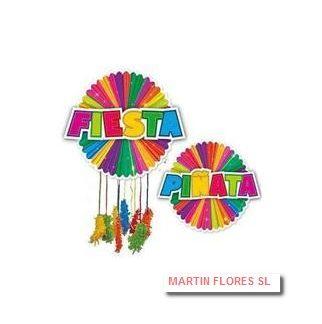 Piñata fiesta cumple mediana