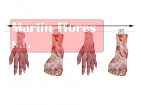 Guirnaldas manos y pies