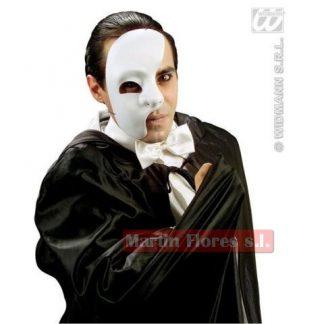 Careta blanca mitad fantasma ópera