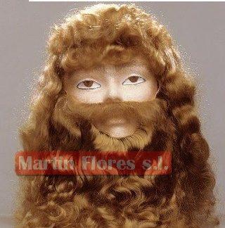 Barba rubia lujo especial rey