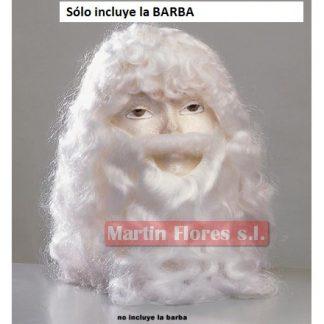 Barba blanca lujo