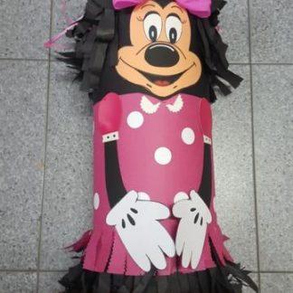 Piñata 3D minnie rosa