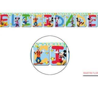 Guirnalda Felicidades Mickey
