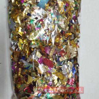 Confeti metalizado brillante 500gr