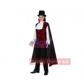 Disfraz caballero vampiro