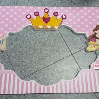 Cartel photocall princesas