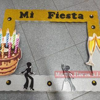 Marco Photocall grande cumpleaños