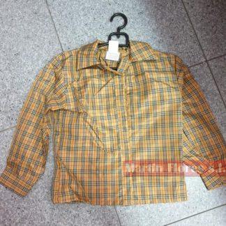 Camisa cuadros vaquero infantil
