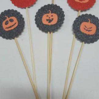 Brocheta decoración 6u verano halloween
