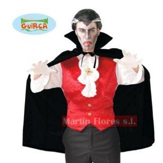Capa negra plástico vampiro 1metro