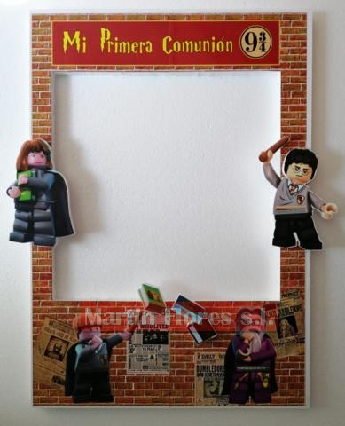 Cartel photocall mago Harry Potter