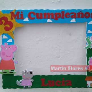 Cartel photocall grande Peppa Pig