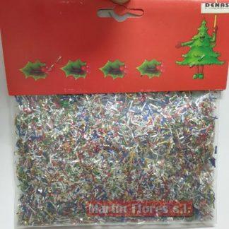 Micro confetti mix plata 30gr