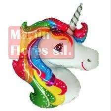 Globo palillo cabeza unicornio