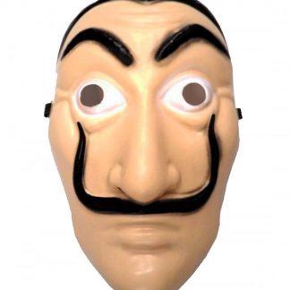 Careta bigote Dalí plástico
