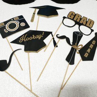 Palitos photocall graduación
