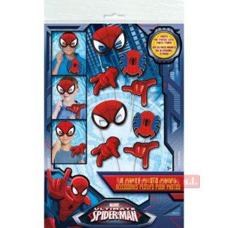 Palitos photocall spiderman 6u