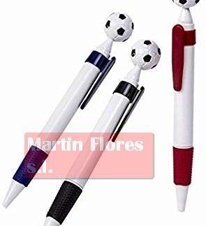 Bolígrafo fútbol 12u